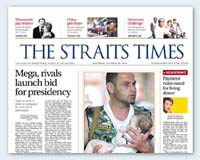 Singapore Press / The STRAITS TIMES